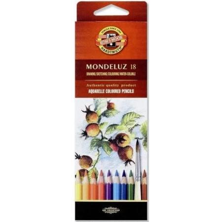 Akvarelové pastelky Koh-i-noor 18 ks Mondeluz 3717