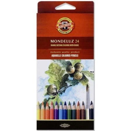 Akvarelové pastelky Koh-i-noor 24ks Mondeluz 3718