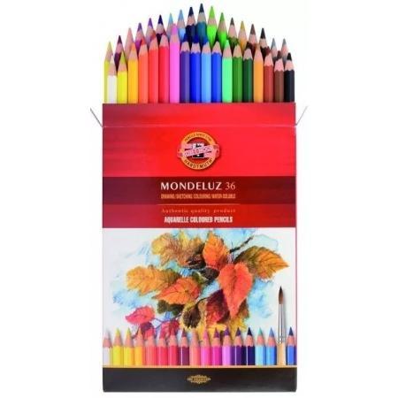 Akvarelové pastelky Koh-i-noor 36ks Mondeluz 3719