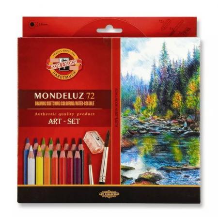 Akvarelové pastelky Koh-i-noor 72ks Mondeluz 3714