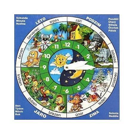 Dětské hodiny SL 25x25cm
