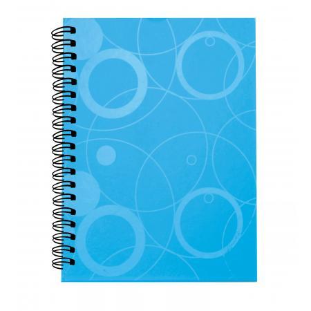 Kroužkový blok A5 NEO COLORI, modrý