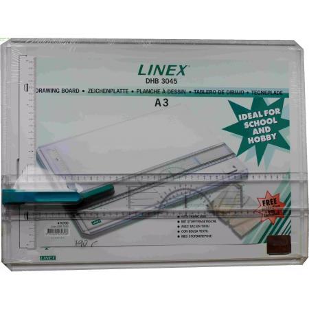 Rýsovací prkno, deska A3 LINEX DHB 3045