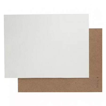 Šepsované malířské plátno na sololitové desce 30x30
