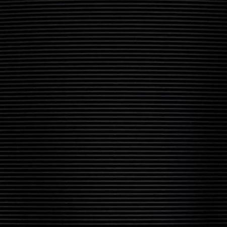 Vlnitá lepenka, rovná vlna, 50x70cm, 260g/m2, černá