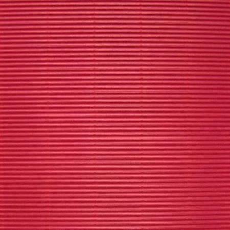 Vlnitá lepenka, rovná vlna, 50x70cm, 260g/m2, červená