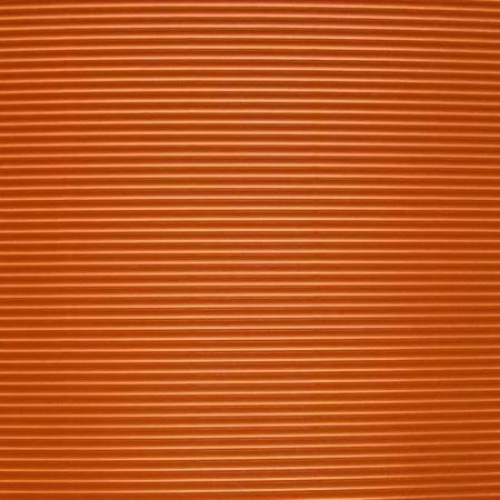 Vlnitá lepenka, rovná vlna, 50x70cm, 260g/m2, oranžová
