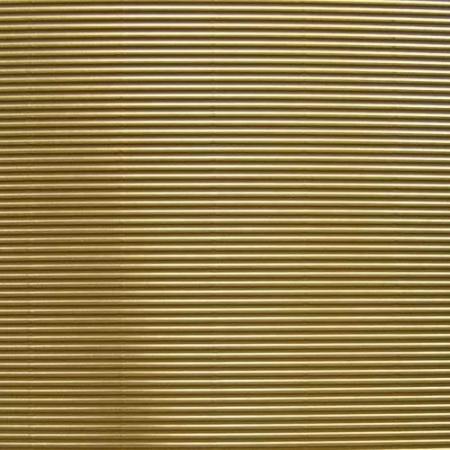 Vlnitá lepenka, rovná vlna, 50x70cm, 260g/m2, zlatá