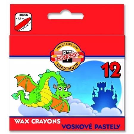 Voskovky 5823202/12 krátké papír