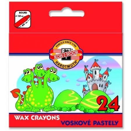 Voskovky 5823402/24 krátké papír
